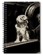 Car And Dog Spiral Notebook