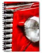 Car - Chevrolet Spiral Notebook