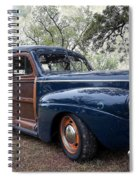 Car - Ford - Wagon - Classic Spiral Notebook
