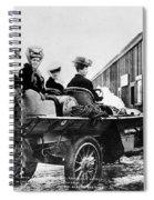 Car Race, 1908 Spiral Notebook