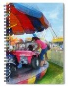 Car Ride At The Fair Spiral Notebook