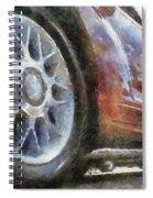 Car Rims 01 Photo Art 02 Spiral Notebook