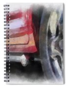 Car Rims 02 Photo Art 01 Spiral Notebook