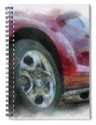Car Rims 04 Photo Art 01 Spiral Notebook