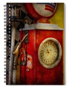 Car - Station - 19 Gallons  Spiral Notebook