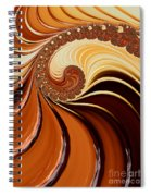 Caramel  Spiral Notebook