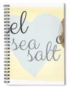 Caramel Sea Salt And Chocolate Spiral Notebook