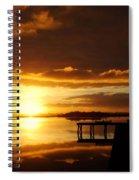 Caramel Skies Spiral Notebook