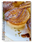 Caramelized Balsamic Onions Spiral Notebook