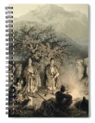 Caravan Of Armenian Merchants Spiral Notebook