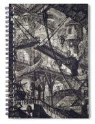 Carceri Vii Spiral Notebook