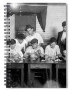 Card Game, 1916 Spiral Notebook