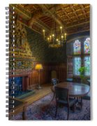 Cardiff Castle Apartment Dining Room Spiral Notebook