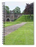 Cardiff Castle Wall 8383 Spiral Notebook