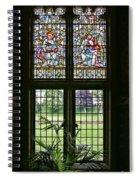 Cardiff Castle Window 8355 Spiral Notebook