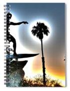 Cardiff Kook Spiral Notebook