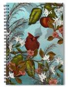 Cardinal And Apples Spiral Notebook