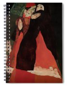 Cardinal And Nun Spiral Notebook