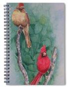 Cardinal Companions Spiral Notebook