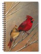 Cardinal Mates Spiral Notebook