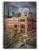 Cardinals Nation Ballpark Village Dsc06176 Spiral Notebook