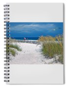 Carefree Days By The Sea Spiral Notebook