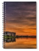 Carew Castle Sunset 1 Spiral Notebook