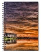 Carew Castle Sunset 2 Spiral Notebook