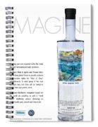 Carey Chen Big Chill Vodka By Jimmy Johnson Spiral Notebook