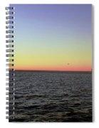 Cargo Ship @ Chesapeake Bay Bridge Tunnel Spiral Notebook