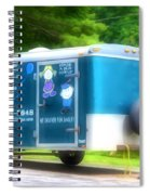 Cargo Trailer Spiral Notebook