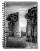 Carhenge Automobile Art 3 Spiral Notebook