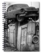Carhenge Automobile Art 4 Spiral Notebook