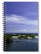 Caribbean Breeze Five Spiral Notebook
