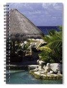 Caribbean Breeze Four Spiral Notebook