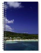 Caribbean Breeze Nine Spiral Notebook