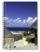 Caribbean Breeze One Spiral Notebook