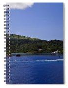 Caribbean Breeze Six Spiral Notebook