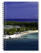 Caribbean Breeze Ten Spiral Notebook