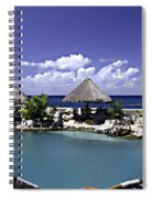 Caribbean Breeze Three Spiral Notebook