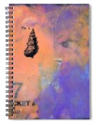 Caribbean Dreams 2 Dyptich Spiral Notebook