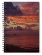 Caribbean Early Sunrise Spiral Notebook