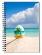 Caribbean Easter Egg Spiral Notebook