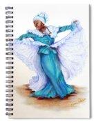 Caribbean Folk Dancer Spiral Notebook
