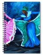 Caribbean Folk Dancers Spiral Notebook