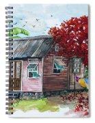 Caribbean House Spiral Notebook