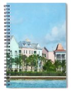 Caribbean - Leaving Paradise Island Spiral Notebook