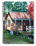 Caribbean Life Spiral Notebook