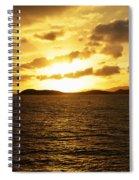 Caribbean Sunset Spiral Notebook