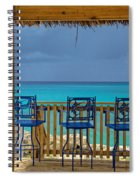 Caribbean View-island Grill Grand Cayman Spiral Notebook